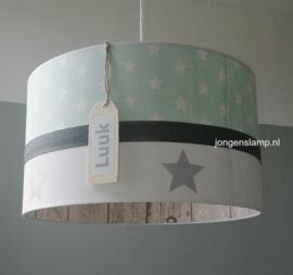 Baby hanglamp mint groen Luuk