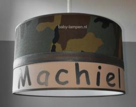 Legerlamp met naam