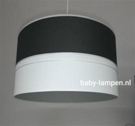 Lamp babykamer antraciet licht grijs