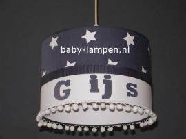 lamp babykamer Gijs met bolletjes