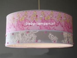 Babylamp prinsessen met roosjes