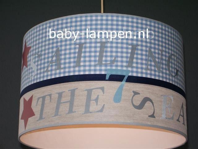 Stoere lamp babykamer room seven