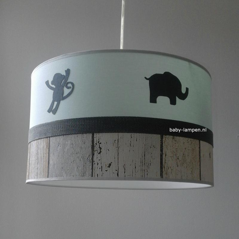 lamp babykamer jungle dieren