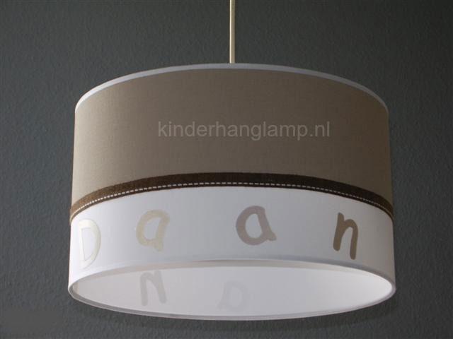 lamp babykamer effen beige en wit Daan