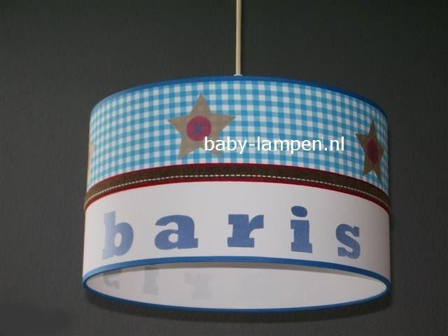 lamp babykamer lichtblauw