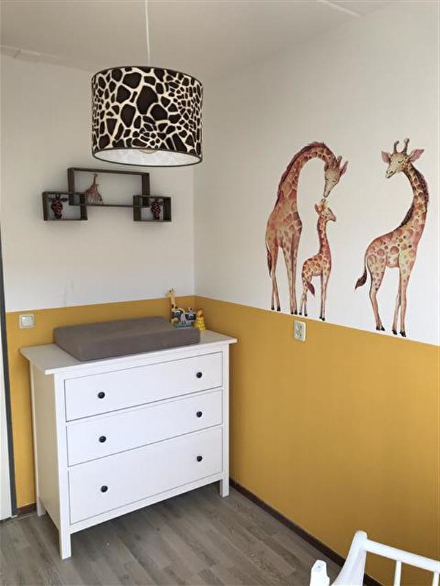 babykamer giraffe