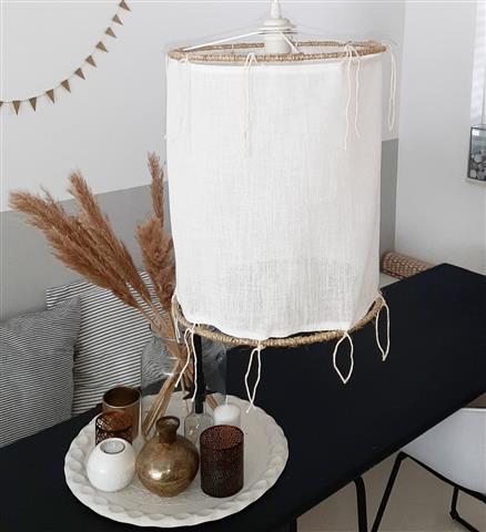 linnen lamp ibiza look stijl