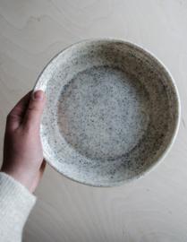 Diep bord spikkels 19,5cm