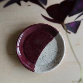 Bordje spikkels Berry 11cm