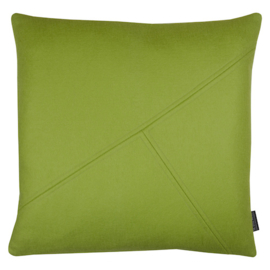 Cushion wool felt green