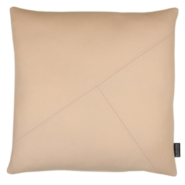 Cushion wool felt soft pink