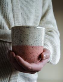 Mug speckles blush