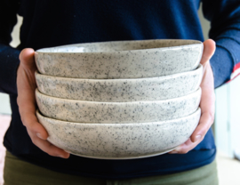 Pasta bowl spikkels 21cm