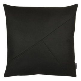 Cushion wool felt black