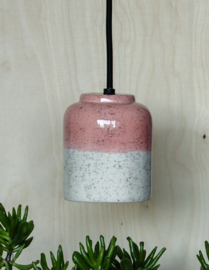 Hanging lamp speckles blush