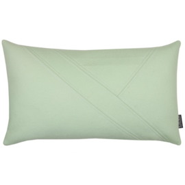 Cushion wool felt mint green 50x30