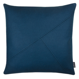Cushion wool felt petrol