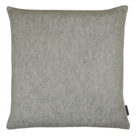 Cushion wool felt grey