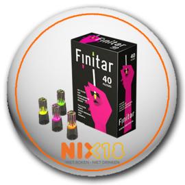 Finitar filters rood 40 stuks