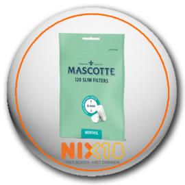 Mascotte slim filters menthol 120 stuks