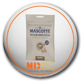 Mascotte slim filters organic 120 stuks