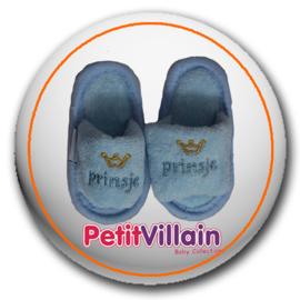 Slippers Prinsje, blauw