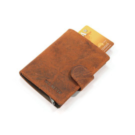 Figuretta Card protector leder - Hunter Oil