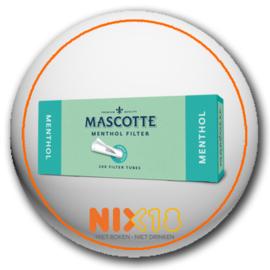 Mascotte hulzen menthol filter 200 stuks