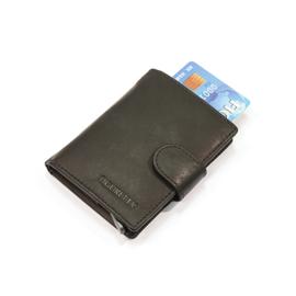 Figuretta Card protector leder - zwart