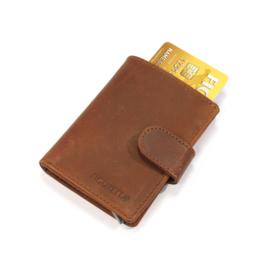 Figuretta Card protector leder - Hunter Bruin