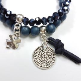 Armbandjes blauw 2forU