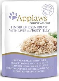 Applaws Cat Pouch Chicken/Liver in jelly - 70 gr. (16 verp.)