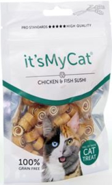 it's My Cat Chicken & Fish Sushi 50 gr