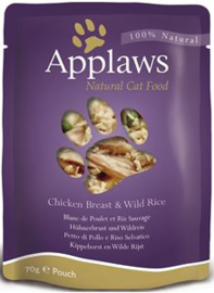 Applaws Cat Pouch Chicken & Rice - 70 gr. (12 verp.)