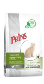 Prins VitalCare Cat Sensitive Hypo Allergeen 10 kg