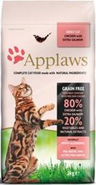 Applaws Chicken & Salmon Adult Brokjes - 2 kg.