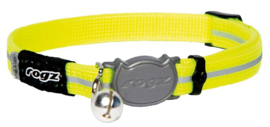 Rogz Alleycat Halsband Small Dayglo - - 11mm - 16,5-23cm