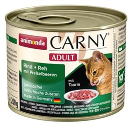 Carny Rund/Hert/Koebessen 6 x 200 gr