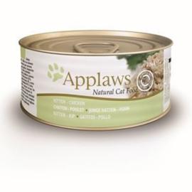 Applaws Blik Cat Kitten Chicken 24 x 70 gr