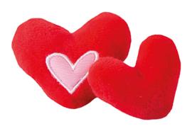 Rogz Catnip Hearts Red 2 stuks