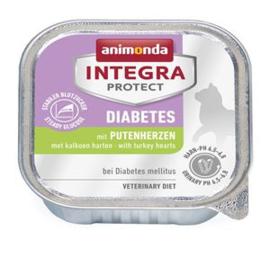Integra Cat Diabetes Turkeyhearts 16 x 100 gr