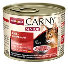Carny Senior Rund/Kalkoen 6 x 200 gr