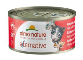 Almo Nature Alternative Ham met Parmezaan - 24x70 gr.