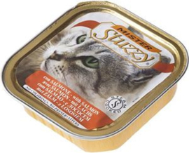 Mister Stuzzy Cat Salmon - 32x100 gr.