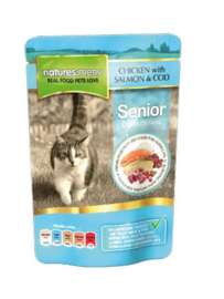 Natures Menu Cat Pouch Senior - 12x 100 gr.