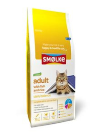 Smolke Kat Adult Fish & Rice  2 kg