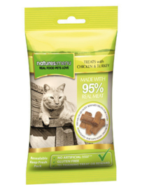 Natures Menu Cat Treats Chicken & Turkey - 60 gr.