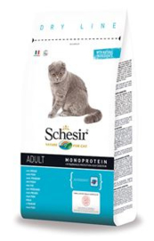 Schesir Cat Dry Main Fish 10 KG