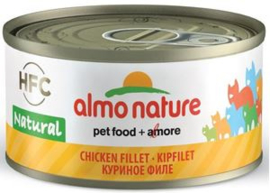 Almo Nature Kipfilet - 70 gr. (24 verp.)
