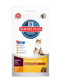 Hills Feline Adult Urinary Hairball  3kg